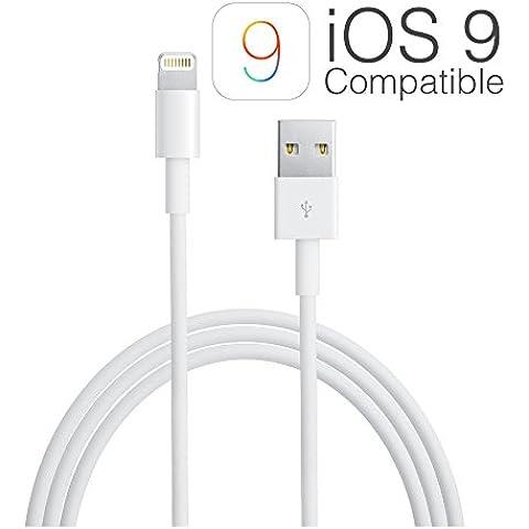 Apple MD818ZM - Cable Lightning para dispositivos Apple, blanco