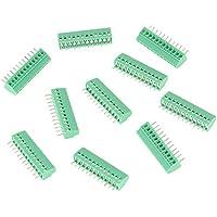 Conectores PCB de 12 pines de 2,54 mm, bloques de terminales de alambre para tornillos, conector de alambre