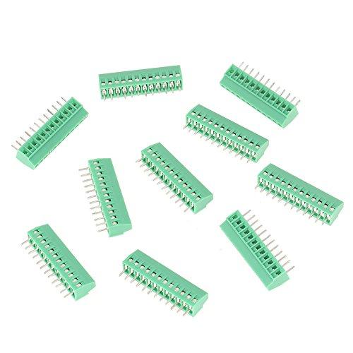 PCB Anschlüsse 10012-Pin 2,54mm Pitch Draht Terminal Blocks Schraube Anschluss Draht Hardware -