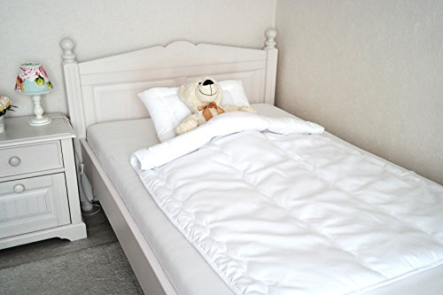 Baby Kinder Set Bettdecken Set 40x60/100x135 cm mit Öko-Tex Standard 100