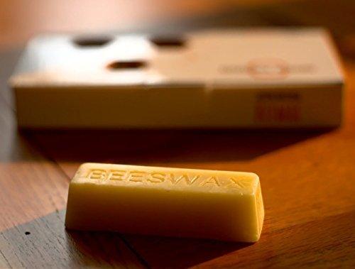 NATURAL APIARY 100% COSMETIC BEESWAX BARS - Six (6) 1oz Bars - Lotions, Lip Balms, Skin Care, Candles, Soap Making, Polish by Natural Apiary