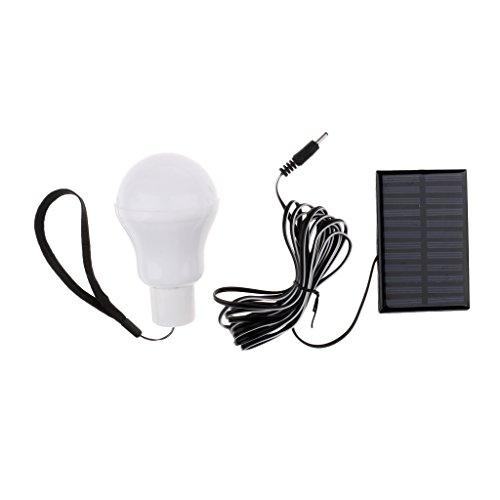 Sharplace Solar Campinglampe LED-Solar-Campingleuchte,10 x 6,2 cm