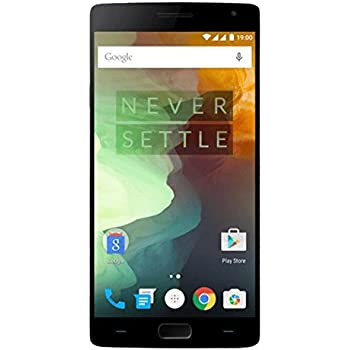 OnePlus 2 Smartphone (5,5 pollici Display, 64 GB di memoria interna, Android 5.1) Nero