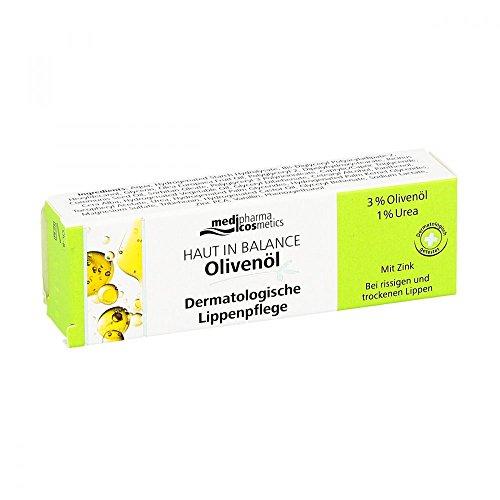 Peau en équilibre Huile d'Olive Derm Soin Lèvres. 3% 7 ml Crème