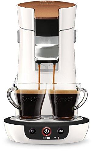 Philips Senseo Viva Café Style HD7836/00 Kaffeepadmaschinen (Kaffee Boost Technologie, kupfer) weiß
