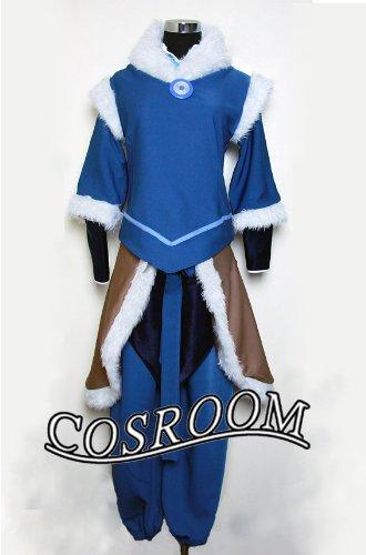Preisvergleich Produktbild The Legend of Korra Korra Cosplay Kostüm Brauch (Mailen Sie uns Ihre Größe)