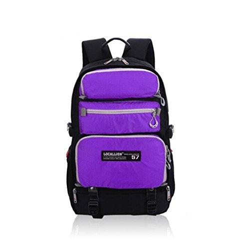 Wmshpeds Alpinismo Outdoor zaino sport moda borsa a tracolla multi - funzionale business borsa per computer multi-scopo borsa dello studente D
