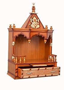 Vishwakarma Furniture Wooden Home Temple Amazonin Home Kitchen