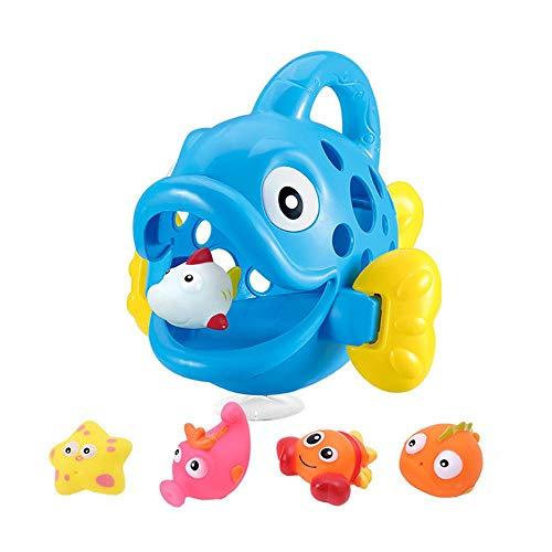 MOGOI Tiere Squirter Bad Spielzeug Set, 6 Stücke Bad Spielzeug Set Fisch Meerestiere Bad Spielzeug Set Strand Und Pool Party Für Kleinkinder, Mädchen Und Jungen -