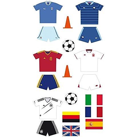 Artemio - Pegatinas con diseño de fútbol