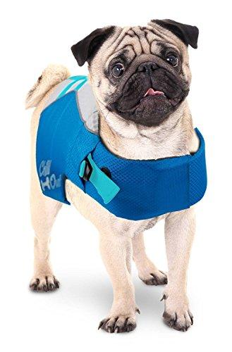 PETGARD Rettungsweste Schwimmhilfe für Hund Chill Out - Dog Life Jacket - Größe S