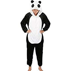 Mescara - Pijama de pijamas de Kigurumi, unisex, forro polar para adultos, diseño de Halloween