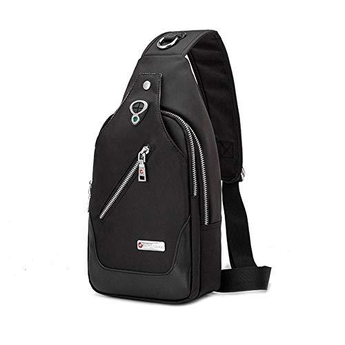 KAIDILA Sling Bag Brust Polyester Schulter Rucksack Crossbody Taschen für Männer Frauen Reisegeschäft im freien - Polyester Sling-tasche
