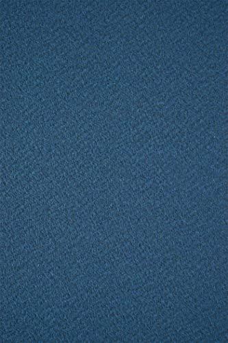 10 Blatt Dunkel-Blau Struktur-Karton 250g beidseitig filzmarkiert DIN A4 210x297 mm Tintoretto Ginepro, Bastel-Karton geprägt strukturiert Designpapier Textur-Struktur Präge-Karton Struktur-Papier