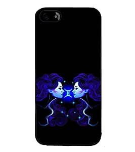 ifasho Designer Phone Back Case Cover Apple iPhone 5S ( Multi Color Pattern )