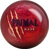 Motiv Primal Rage 5 YR LE, Lava Rot Pearl Oberfläche, Reaktiv Bowlingkugel für Einsteiger und Turnierspieler - inklusive 100ml EMAX Ball-Reiniger Größe 15 LBS
