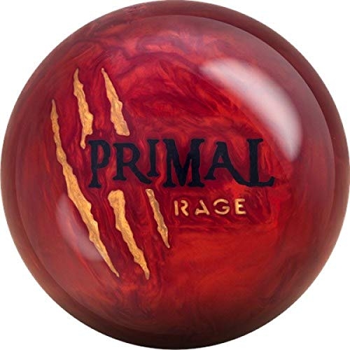 YR LE, Lava Rot Pearl Oberfläche, Reaktiv Bowlingkugel für Einsteiger und Turnierspieler - inklusive 100ml EMAX Ball-Reiniger Größe 15 LBS ()