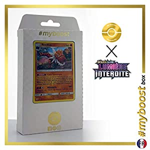 Rexillius (Tyrantrum) 69/131 Holo - #myboost X Soleil & Lune 6 Lumière Interdite - Box de 10 Cartas Pokémon Francés
