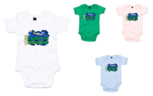 Brand88 - I Want To Believe!, Printed Baby Grow