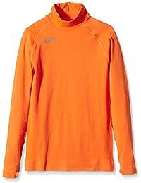Joma Camiseta Brama Classic NRJA Cuello M/L térmica de Manga Larga, Unisex niños, Naranja, 12-14 años