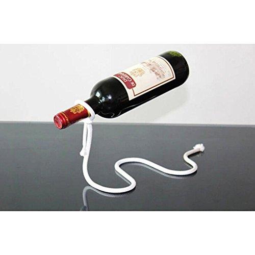 Einzigartig Weißes Seil Weinhalter Stand Weinflaschenhalter Weinständer Regal Hergestellt aus...