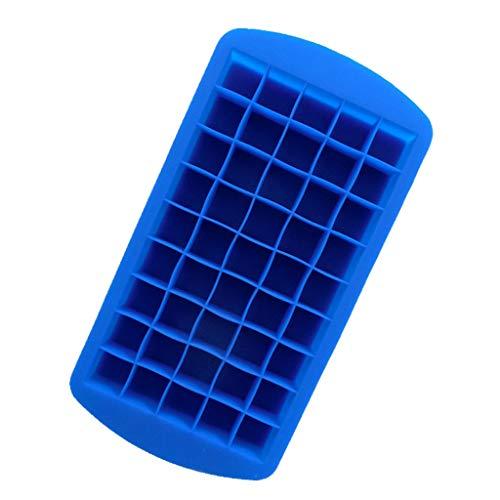 Lazzboy Küche Party-Ziegel-Quadrat-Whisky-EIS-Block-Würfel-Hersteller-Behälter-Kugel-Form (Blau, ()