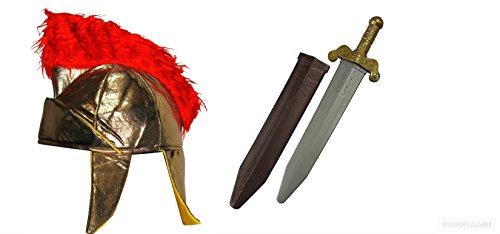 er Helm-Signal Spielzeug-Set Gladiator Centurion Kostüm griechisches Kostüm (Artikelnummer: 222794461197) ()