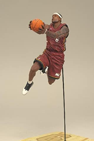 NBA Series 19 Miami Heat 8.5 inch Action Figure - Lebron James