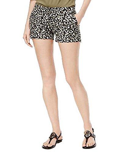 MICHAEL Michael Kors Pantalones cortos estampados cl sicos petite de michael kors para mujer 12P Hiedra