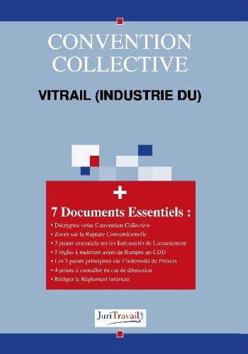 3172. Vitrail (industrie du) Convention collective