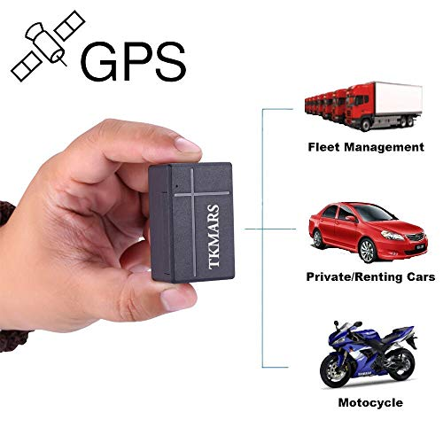 GPS Tracker, Mini-precise Positioning GPS Tracker, Children's Real-time Anti-lost Device, Real-time Monitoring of Electronic Magnets Suitable for Cars/Trucks/Ships