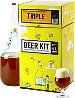 Brassez votre propre bière triple à la maison comme un vrai maître brasseur ! Ce Beer Kit de niveau intermédiaire vous permet de réaliser toutes les étapes du brassage et ainsi d'avoir l'expérience de A à Z. Ce kit contient tout le matériel réutilisa...