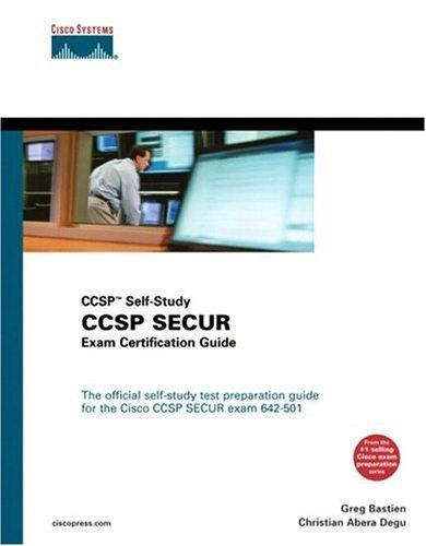 CCSP SECUR Exam Certification Guide (CCSP Self-Study, 642-501) por Greg Bastien