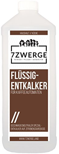 7Zwerge Flüssig-Entkalker 1000ml 1 Liter für Kaffeeautomat Kaffeevollautomat Kaffeemaschine Reiniger Entkalkung thumbnail