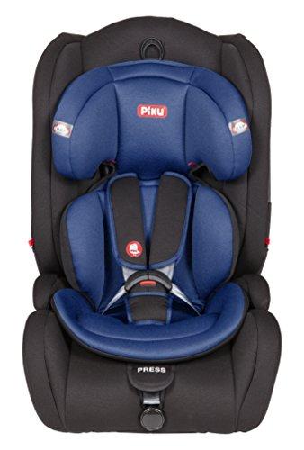 Piku Moon NI20.6285 - Silla de coche reclinable, grupos 1/2/3 (9-36 kg, 1-12 años), color azul