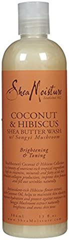 Shea Moisture Coconut Hibiscus Body Wash 385 ml