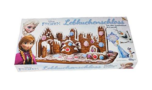 Preisvergleich Produktbild Disney Eiskönigin Lebkuchenhaus Frozen Bastelsatz mit Sammelfiguren