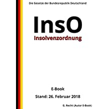 Insolvenzordnung – InsO - E-Book - Stand: 26. Februar 2018