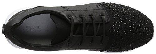 Geox D Ophira A, Sneakers Basses Femme Noir (Blackc9999)