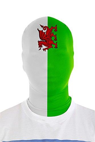 Morphsuits Galles Bandiera Morph Maschera (taglia unica)