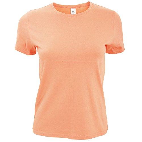 B&C - T-shirt à manches courtes - Femme Corail