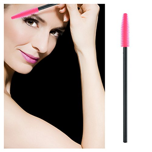 50-pezzi-singoli-ciglia-pennello-gel-in-fibra-sintetica-rosa-a-forma-di-coltello-mascara-applicatore