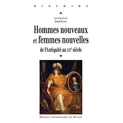 Hommes nouveaux et femmes nouvelles: De l'Antiquité au XXe siècle (Histoire)