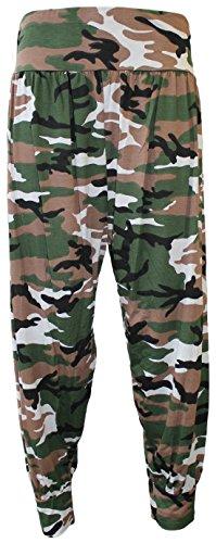 COMFYLOT LIMITED -  Pantaloni  - Donna Camouflage Print