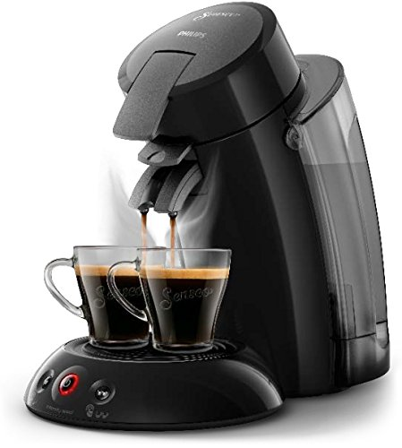 Philips Kaffeepadmaschine HD 6555/27 SENSEO XL Senso-to-Go Becher 100 Pads Gratis