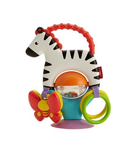 Fisher-Price Cebra Activity, Juguete Colgante para bebé recién Nacido (Mattel FGJ11)
