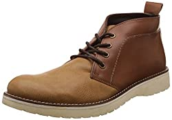 Knotty Derby Mens Dennis Chukka Camel+Coco Boots - 9 UK/India (43 EU)