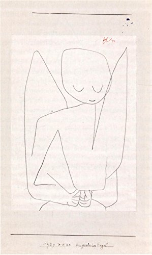 Spiffing Prints Paul Klee - Vergesslicher Engel - Extra Large - Matte Print