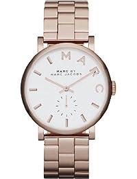 Marc Jacobs MBM3244 - Reloj con correa de metal, para mujer, color gris / rosa
