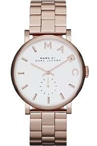 Marc Jacobs - MBM3244 - Montre Femme - Quartz Analogique - Bracelet Acier Inoxydable Or et Rose